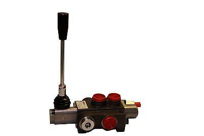 Hydraulic Control Valve Single Spool 10 Gpm 3625 Psi Max Open Center
