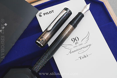 PILOT 90th ANNIVERSARY LIMITED EDITION TOKI RADEN #390/900 YEAR 2008 18K M NIB