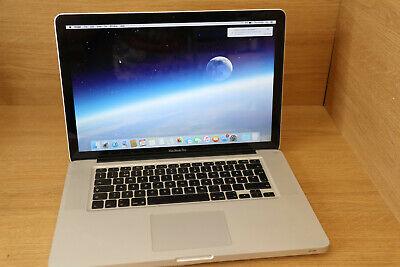 Apple MacBook PRO A1286 MID 2009 2.53GHZ 4GB 1TB NVIDIA 9400M OSX 10.11.1 #19