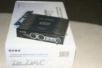 esi AUDIOTRAK Headphone Amplifier DR. DAC CONVERTER  SPDIF TOSLINK dac