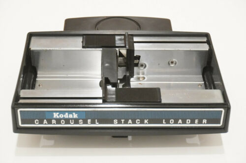 Kodak Carousel 35mm Slide Projector Stack Loader