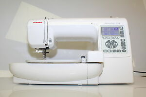 Janome MC 200 e Embroidery machine 5 Years JANOME warranty compact cheap robust