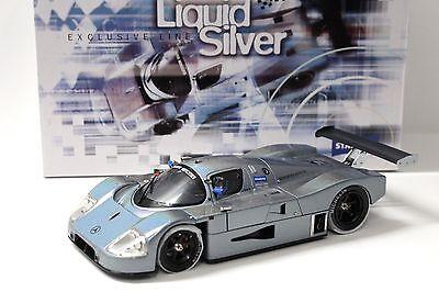 1:18 Exoto Sauber-Mercedes C9 STANDOX Liquid silver NEW bei PREMIUM-MODELCARS online kaufen