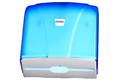 Papierspender, Handtuchspender,Papierhandtuchspender, Falthandtuchspender , blau