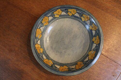 high glaze Newcomb College bowl