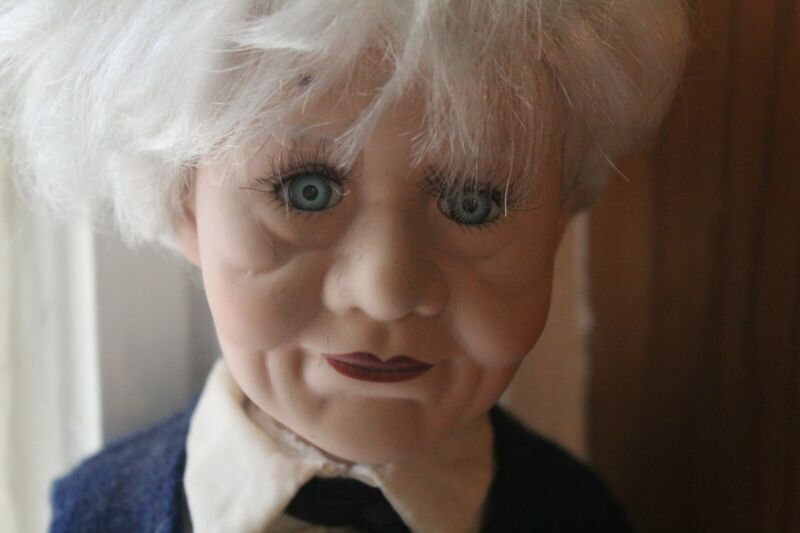 Ed The Active Haunted Spirit Elderly Man Doll Positive Paranormal Attachment
