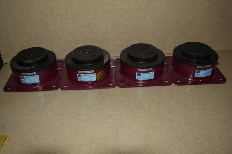 <RT> QONTROL DEVICES AMAT25- LOT OF 4 AIR MOUNT SYSTEM (B)