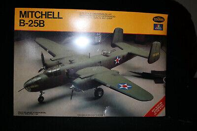Italaerei Testors Mitchell B-25B 25C Sealed Box  1/72  Scale Model Kit  6