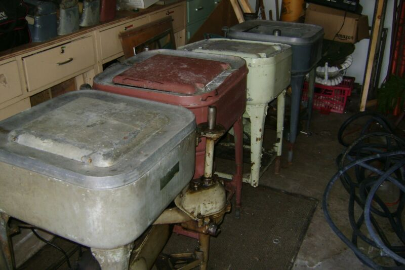 SELLING 4 VINTAGE MAYTAG WRINGER WASHER WITH ELECTRIC MOTOR 1920