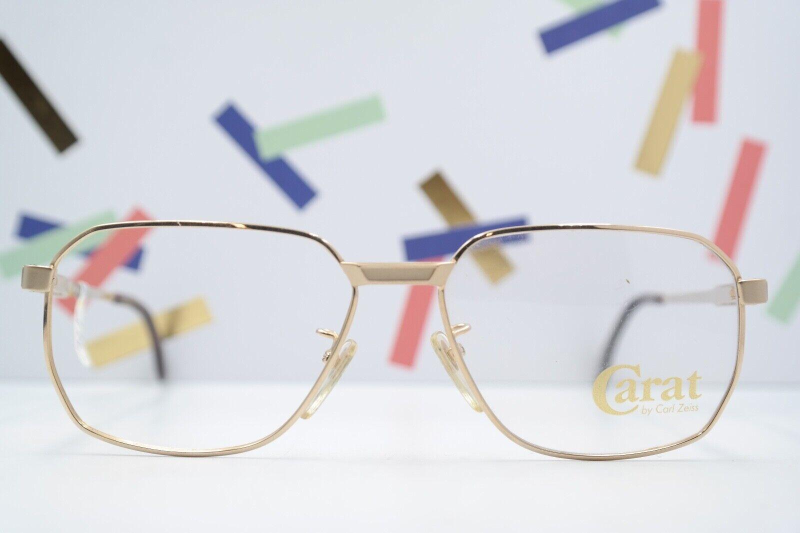 Brille Brillengestell Vintage Carat by Zeiss A5996 4001 gold 80s 54/15 135 NOS