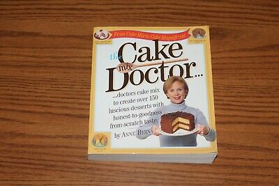 The Cake Mix Doctor Cookbook 1999 Anne Byrn Paperback Recipes