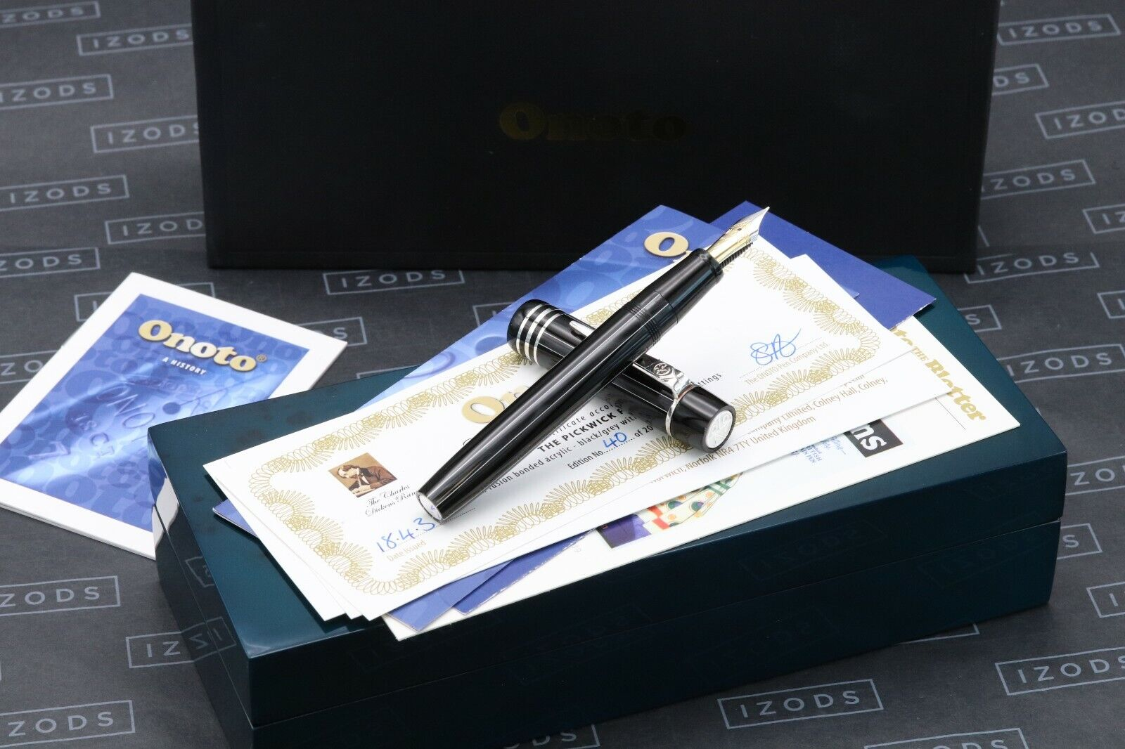 Onoto Magna Charles Dickens Pickwick Limited Edition Fountain Pen - UNUSED