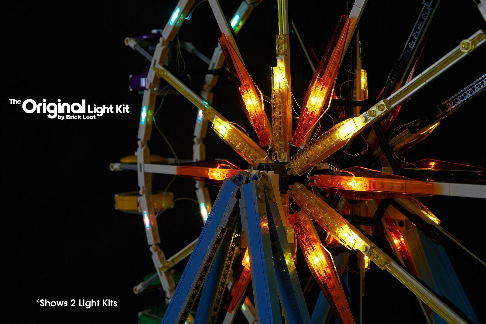 Battery Brick Loot Original LED Lighting Kit for LEGO ® Ferris Wheel 10247