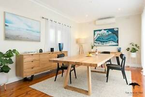 Solid Messmate Dining Table - Made in Melbourne NEW