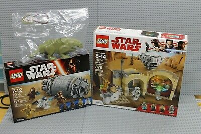 Lego Star Wars Lot! 75136, 76205 + Sealed Dewback from 75052! Brand New Sealed!