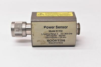 Boonton Electronics 51102 Power Sensor 30mhz-26.5ghz
