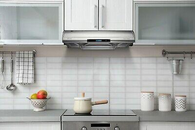 "Hauslane Chef C400 30"" Under Cabinet Range Hood 750 CFM Auto-clean Touch screen"