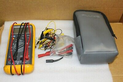 Fluke 87 With Probes And Case
