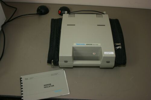 TEKTRONIX A6902B ISOLATOR & Qty 2 3000V PROBES, Recent Calibratiom, Warranty