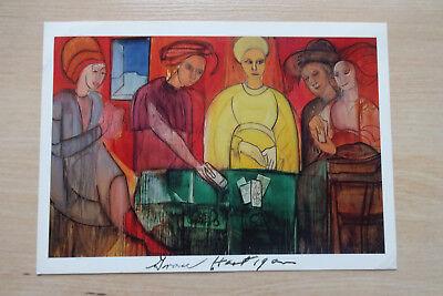 Grace Hartigan Autogramm signed 10x15 cm Kunstpostkarte