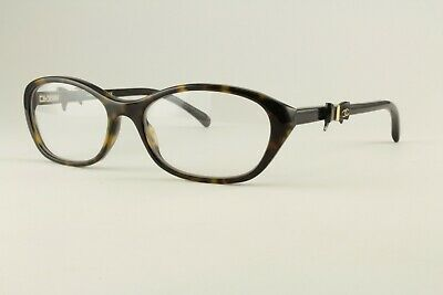 Authentic Chanel Glasses 3242 714 Tortoise 54mm Bow Frames Eyeglasses (Chanel Bow Eyeglasses)
