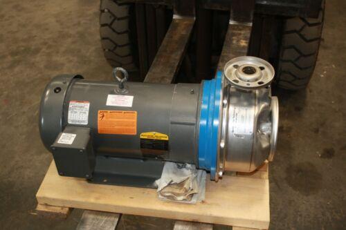 """New Xylem Goulds Water Technology Pump SSH 1"""" x 2""""x 8 G & L Series Baldor 7.5HP"""