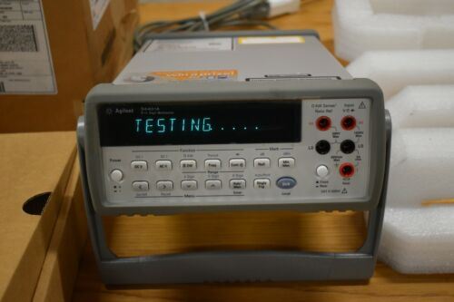 NEW!! Agilent 34401A Digital Multimeter 6.5 digits  New in The Box .