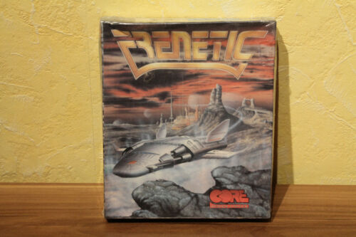 ~ Sealed Amiga Collectible ~ Frenetic (Core Design, 1991)