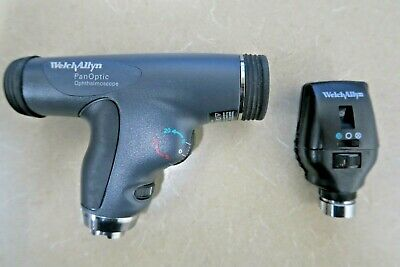 Welch Allyn 3.5v Panoptic Ophthalmoscope Head Model 11820 And 11720 Pre-owned