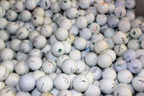 50 Assorted Brands Refurbished/Refinished Mix Used Golf Balls