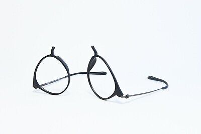 MODO 7002 FULL RIM ROUND LIGHTWEIGHT PLASTIC EYEGLASS FRAMES MATTE BLACK (Lightweight Plastic Eyeglass Frames)