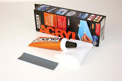Quixx Kratzerentferner für Acryl und Plexiglas Kratzerpolitur Kratzer entferner