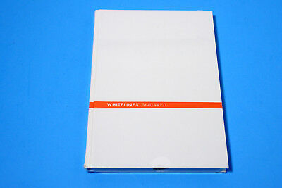 Whitelines Hard Bound A5 Squared Notebook 100 - Notebook With White Lines Grid