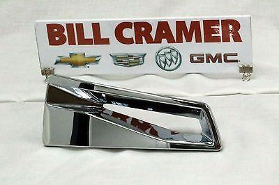 23135752 2015-2016 Cadillac Escalade OEM Chrome Wheel Spoke Insert NEW