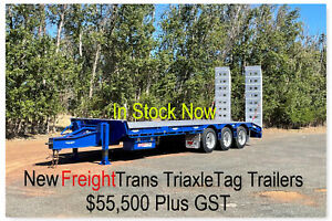 NEW 2021 FreightTrans  Triaxle Tag machinery trailer. Pickering Brook Kalamunda Area Preview
