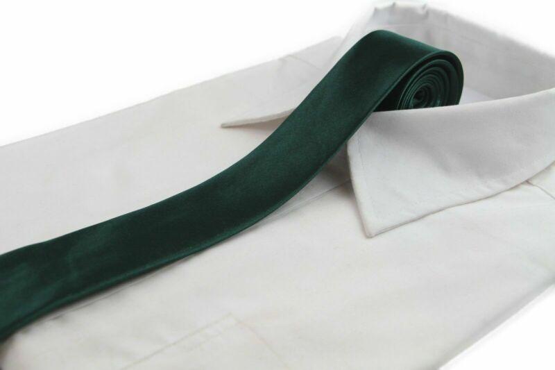 *cheap* 5cm Bottle Green Tie Necktie Neck Skinny Ties Wedding Races Bargain