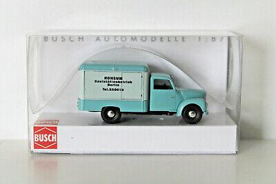 Fahrzeug Modell 1:87 Busch H0 51206 Framo V901//2 Kastenwagen »Radeberger«
