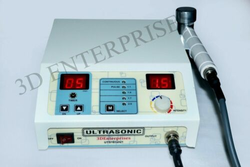 3Mhz Ultrasound Ultrasonic Therapy Machine Portable for Back & Knee Pain relief