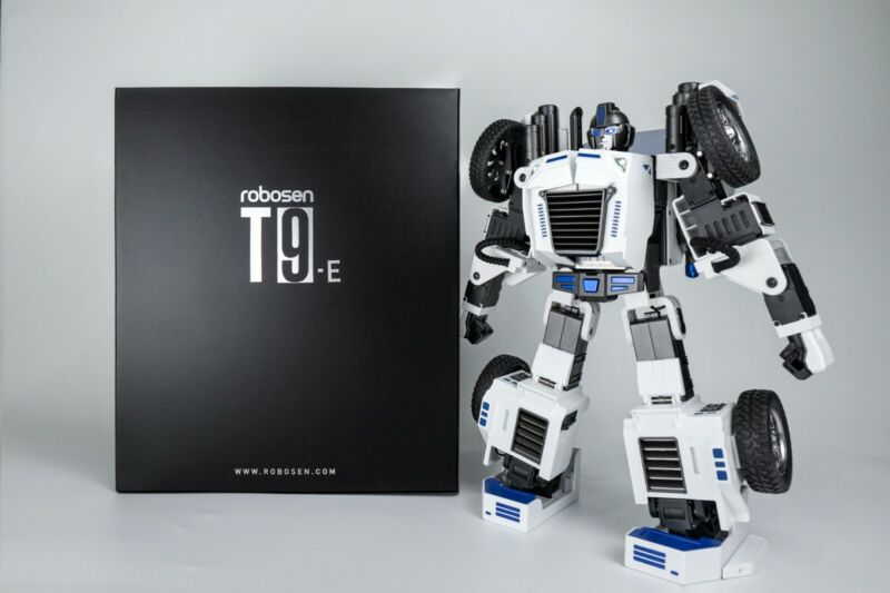 Toy Robot - Toy Robot Programmable Mobile App Control - Auto Transforming