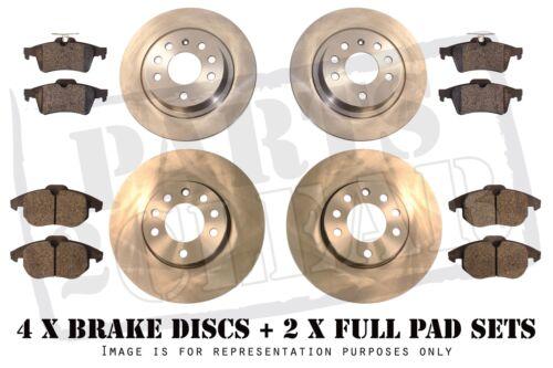 Lexus Is 220 D 250 Front Rear Brake Discs Pads Full Set 2.2D 2.5 Is220 Is250 05-
