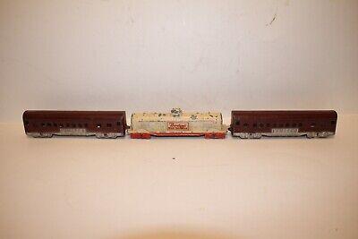 1930's Tootsietoy Train Cars, Original