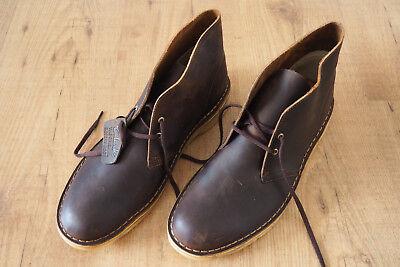 Clarks Desert Boot Beeswax jaune miel Gr. 44,5 UK 10 Herren Stiefel Leder