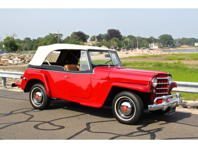 "Willys : Other JEEPSTER 1950 WILLYS OVERLAND JEEPSTER ""RESTORED, ICONIC, THE BEST!!!"""