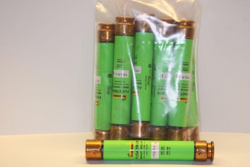 BUSSMANN FUSETRON FUSE FRS-R-5 600v bag of 10 pcs