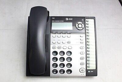 Att 1080 4-line Intercom Paging Small Business Office Phone