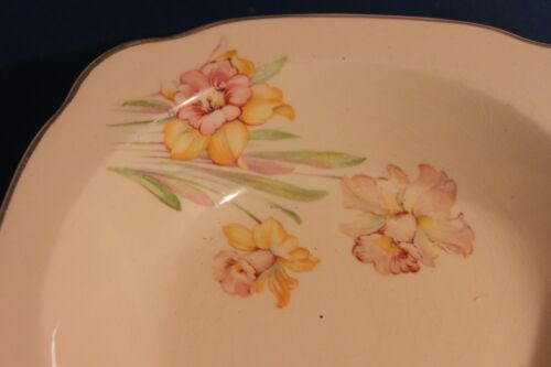 "lot of (2) Regina P.C.P Co 5.5"" Bowl Floral / Flowers"