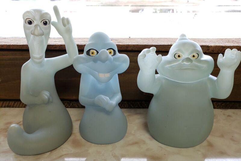 Casper the Friendly Ghost Glow in the Dark 3 Pc Set Stretch Fatso Stinky Vintage