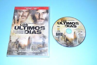 LOS ULTIMOS DIAS      DVD PELICULA COMPLETA  FILM DVD  segunda mano  Palomares del Rio