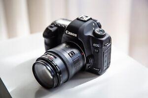 Canon 5D Mark ii Canon 35-105mm Lens