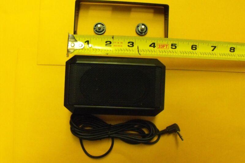 Icom SP10 STYLE HAM MOBILE BASE HT CB Communications Extension Speaker